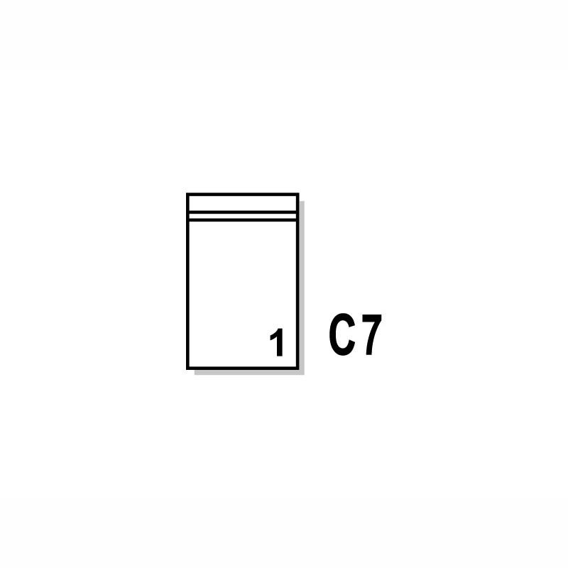 Dokumententaschen 90x118mm, C7. ohne Druck.