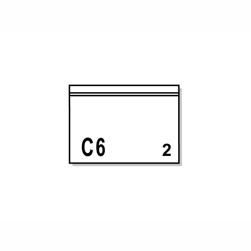 Dokumententaschen 175x118mm, C6. ohne Druck.