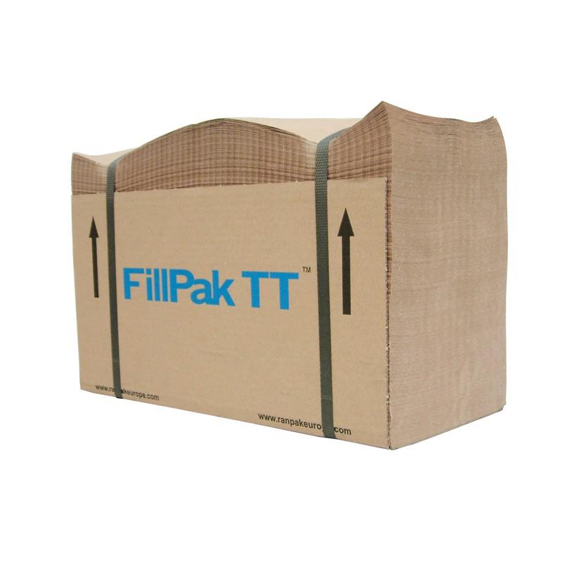 FillPak TT / M-Papier 1-lagiges Papier 50gr./m². 500lfm./Paket, vorperforiert. ca. 10kg/Paket