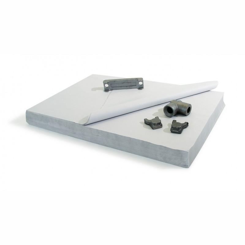 Einschlagpapier 100x75cm, a 10-kg-Pakete. Qual. 50 gr./qm.