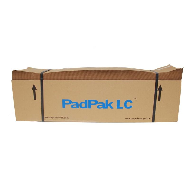 PadPak Papier für LC 1-lagiges Papier 90gr/m². 300 lfm,/Paket, vorperforiert.