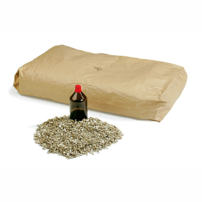 Füllmaterial Vermiculite 7,5 kg/Sack = 100 Liter. Körnung 0-6mm.