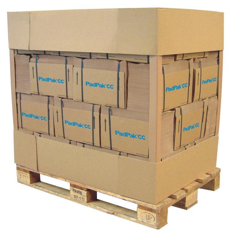 PadPak CC-Papier (Compact) 1-lagiges Papier 70g/m². 360 lfm./Stapel, 38cm breit.