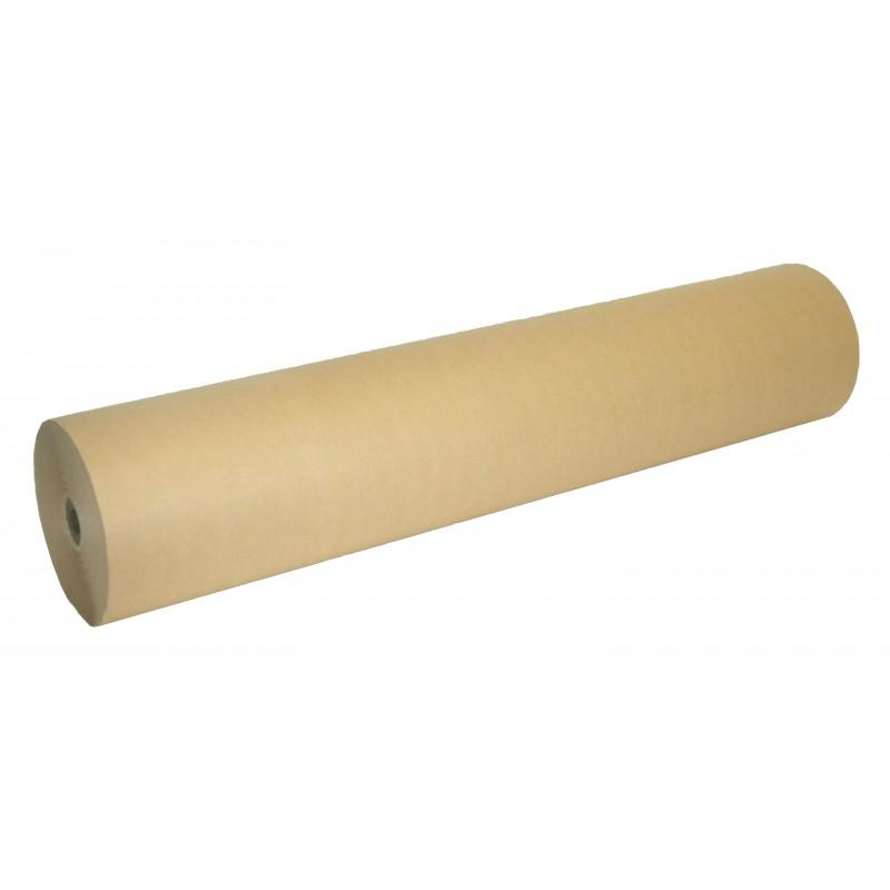Packpapier Natron-Mischpapier 100cm breit, 80g/qm. Rollendurchm. 210mm, braun. ca. 24kg/Rolle, Preis per kg