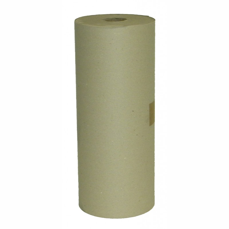 Schrenzpapier-Rollen 50cm breit, 80g/qm. Rollendurchm.210mm, grau. ca. 9kg/Rolle, Preis per kg