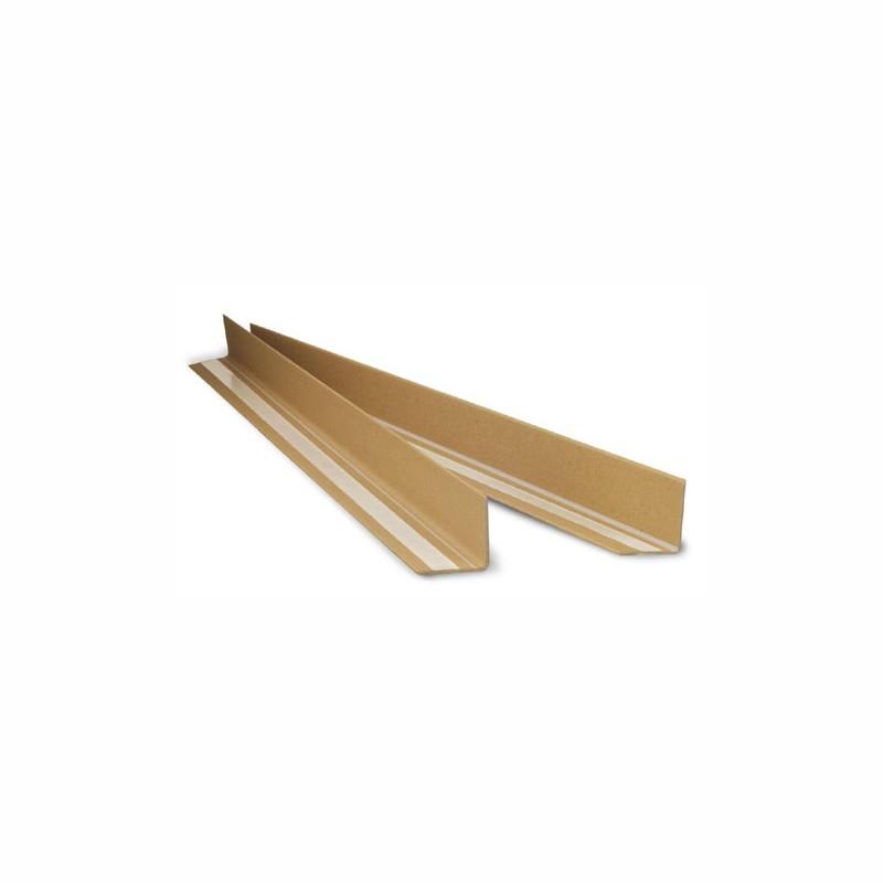Vollpapp-Kantenschutzleisten 1100x50x50mm, 3mm Stärke. braun, selbstklebend.