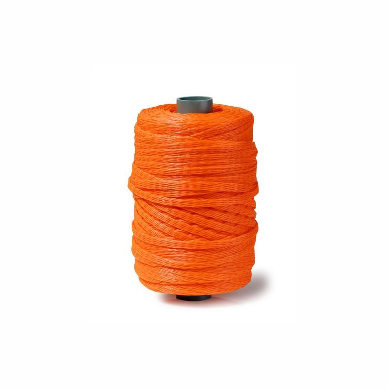 Kunststoff-Schutznetze Durchm. 10-20mm, 250lfm. orange.
