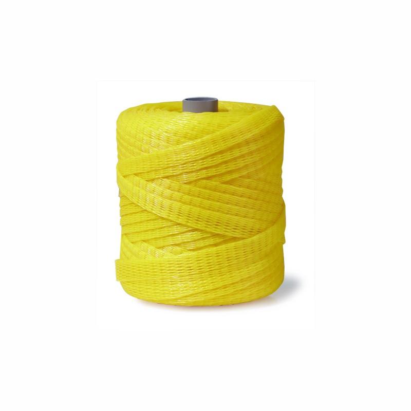 Kunststoff-Schutznetze Durchm. 40-60mm, 150lfm. gelb.