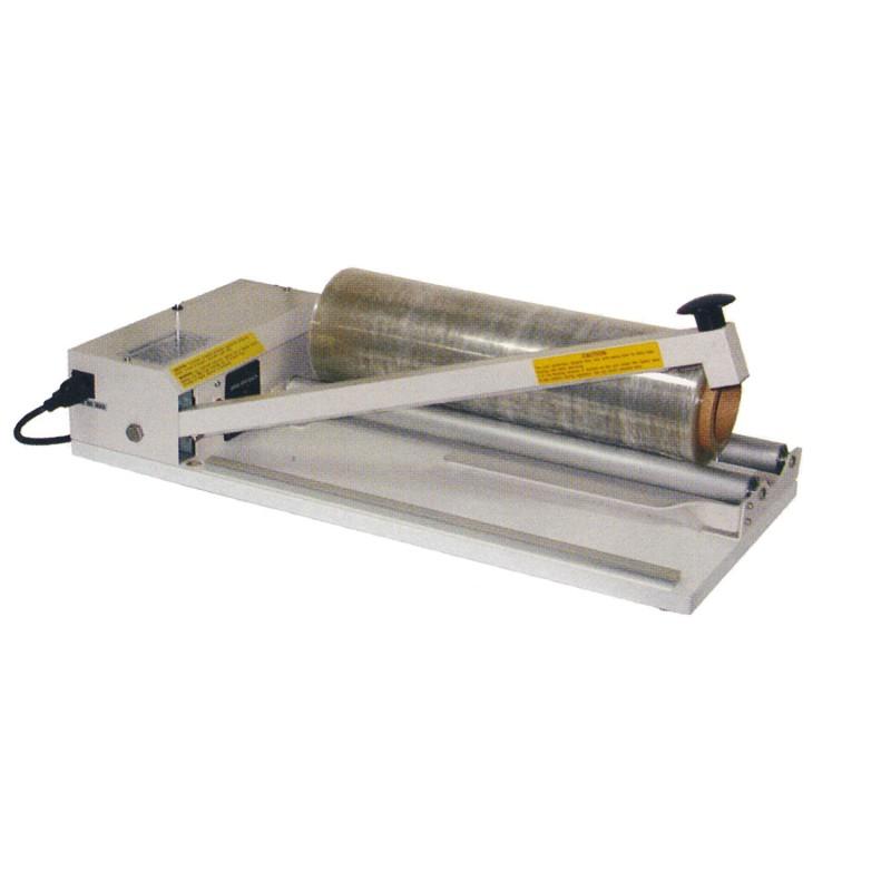 Tisch-Schweißgerät 800mm Schweißnahtlänge. mit Abrollvorrichtung.
