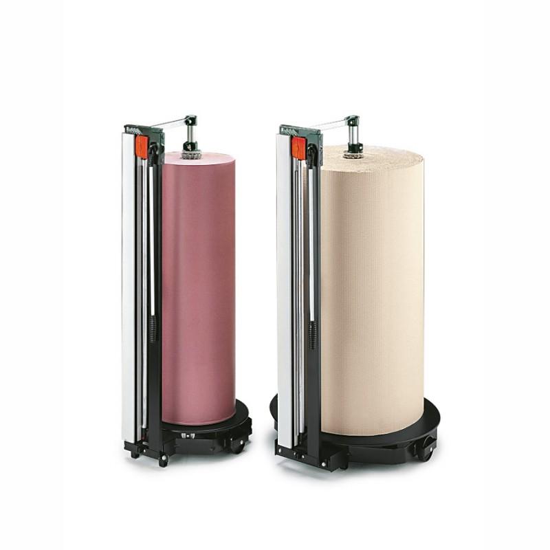Schneidständer, senkrecht Rollen bis 125cm Breite. und max. 45cm Durchmesser. Rollengewicht max. 200kg