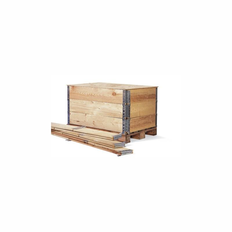 Holzaufsetzrahmen 1200x800x200mm. Aufsetzrahmen für Europalette. mit IPPC-Stempel