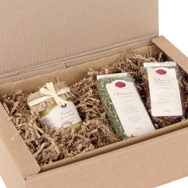 PresentFill 120g/qm dreilagiges Papier. natur, 10kg per Karton.