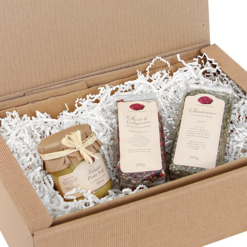 PresentFill 120g/qm dreilagiges Papier. weiß, 10kg per Karton.