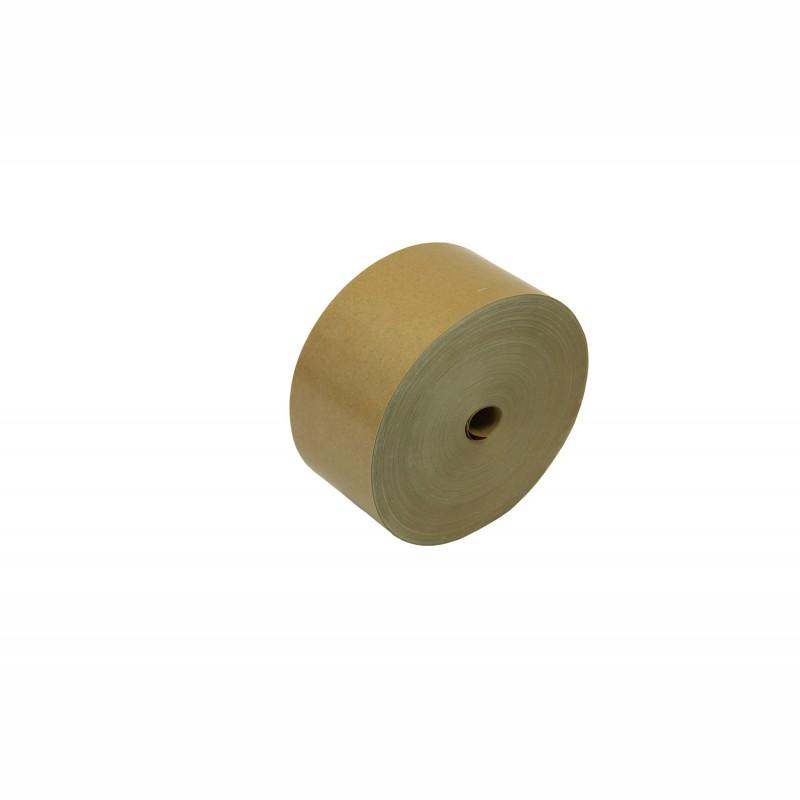 Nassklebeband 70mm breitx200lfm, 70g/qm. braun, unverstärkt. Pflanzenleimkleber