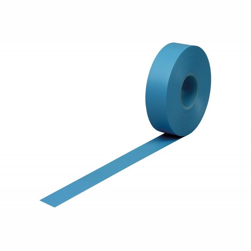 Isolierband Weich-PVC 19mm breitx33lfm., 120µ. blau, Kunststoffkern. Naturkautschukkleber