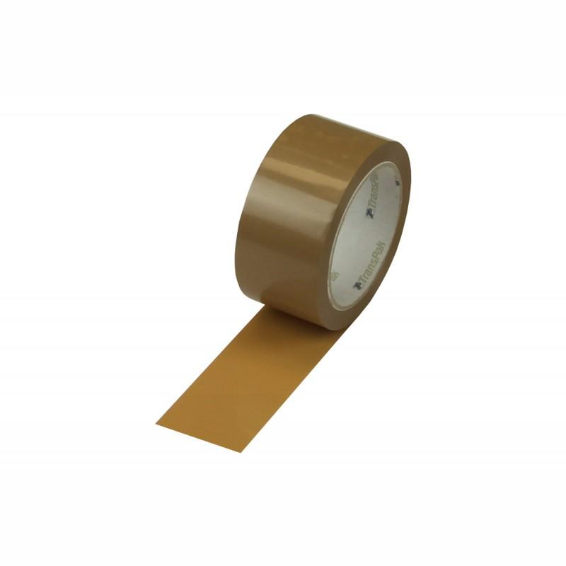 PVC-Packband,braun 48 mm breit x 66 lfm., 52 my. Monta 283.