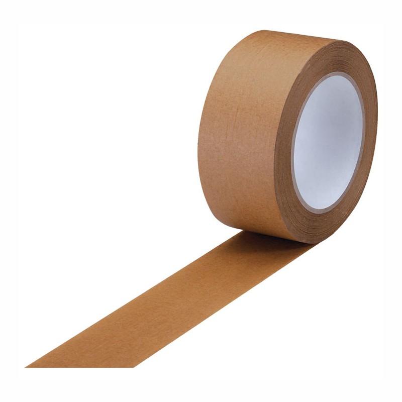 Papierklebeband Premium-Qual. 50 mm x 50 lfm, 110 my,braun,. Naturkautschukkleber. chlor-und säurefrei