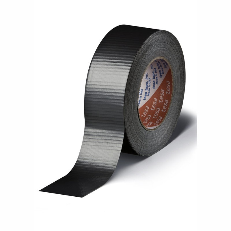 tesa Gewebeband 4662 48mm breitx50lfm, 230µ. schwarz, Polyethylen. Naturkautschukkleber