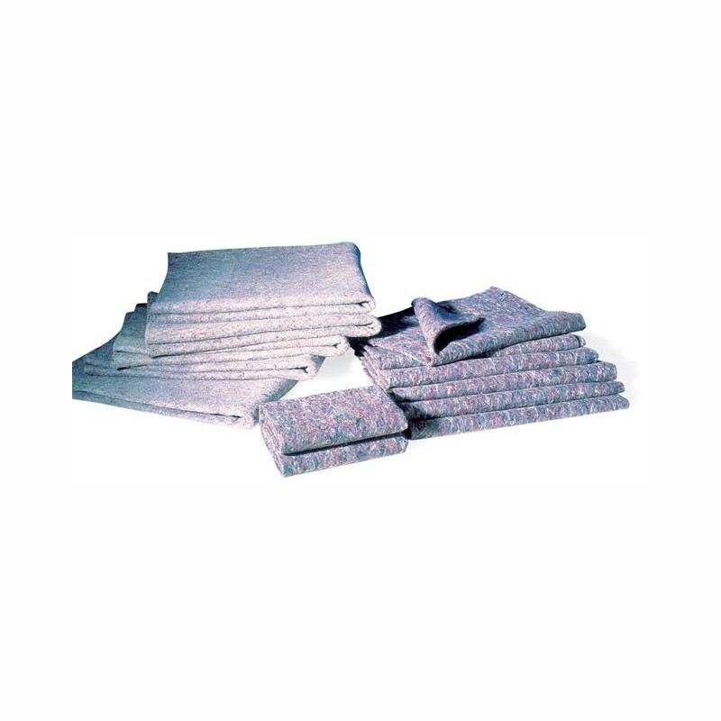 Möbelwolldecken  150x200cm. vlies, Gewicht 380g. 4-seitig eingefasst