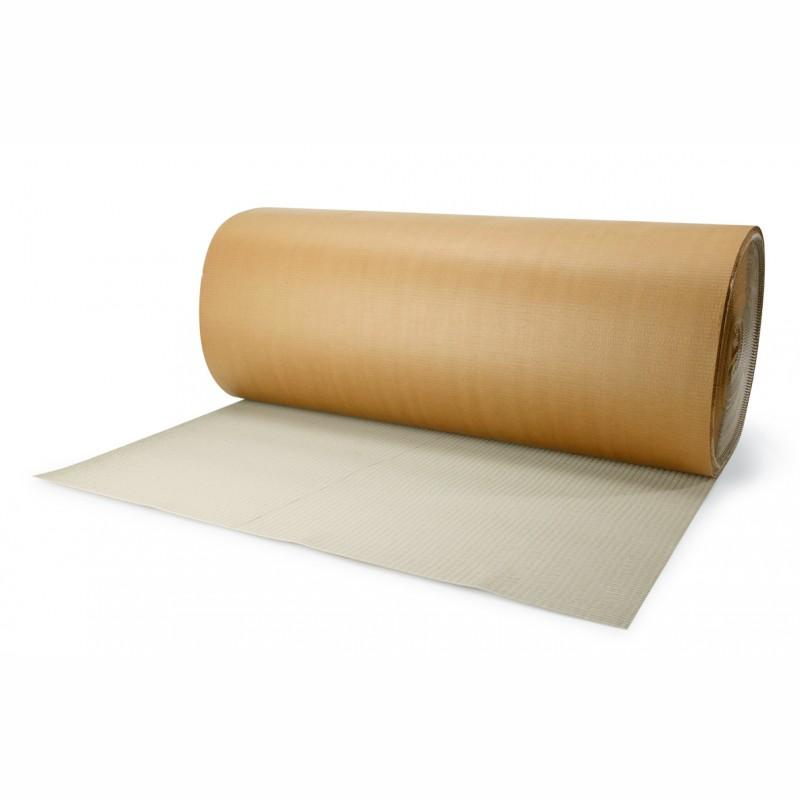 Rollen-Packdecken, gerillt 1m breit x 70lfm, B-Welle. 50g KRbr, 90g Schrenz.
