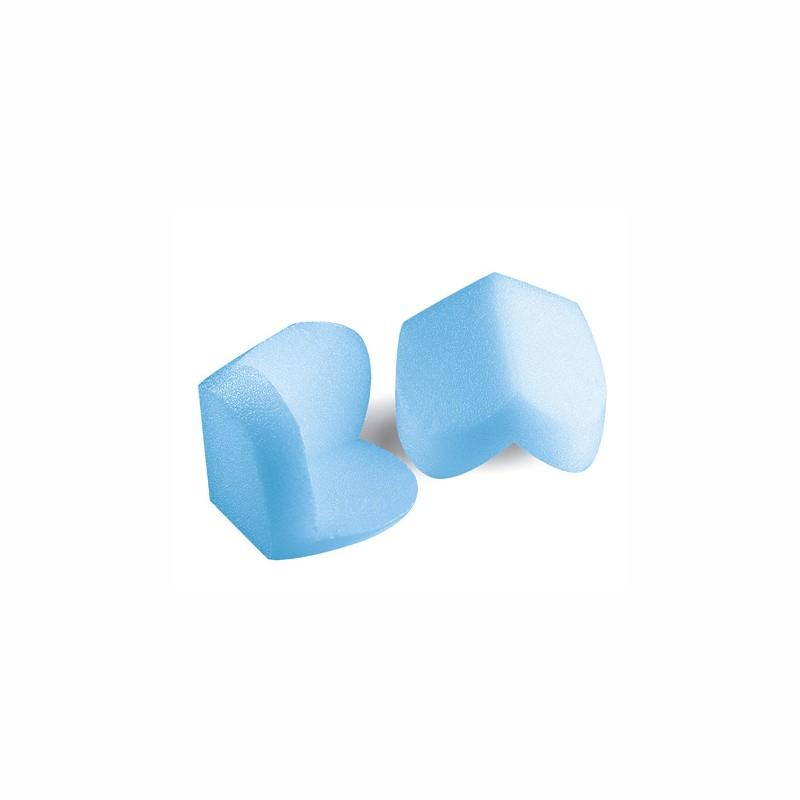 Kantenschutzecken PRO CC 70mm Schenkellänge. 12mm Stärke, blau, aus Schaum.