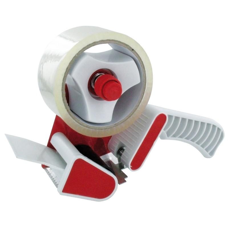 Packband Handabroller für Klebeband bis 50mm Breite. mit Abrollbremse.