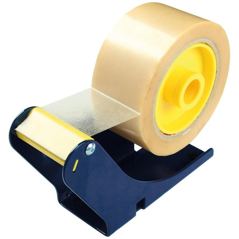 Tisch-Universalbaroller bis 50 mm Bandbreite f. 1 Band. oder 2 Bänder mit 25 mm Breite. inkl. Befestigungsklemme
