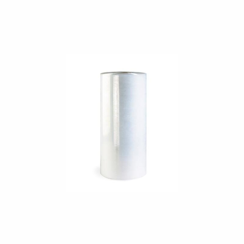 Maschinenstretchfolie TP-MPS 500mm breit x 2850lfm., 12µ. transparent, aussen glatt, stärkenreduziert. ca. 17,5 kg/Rolle