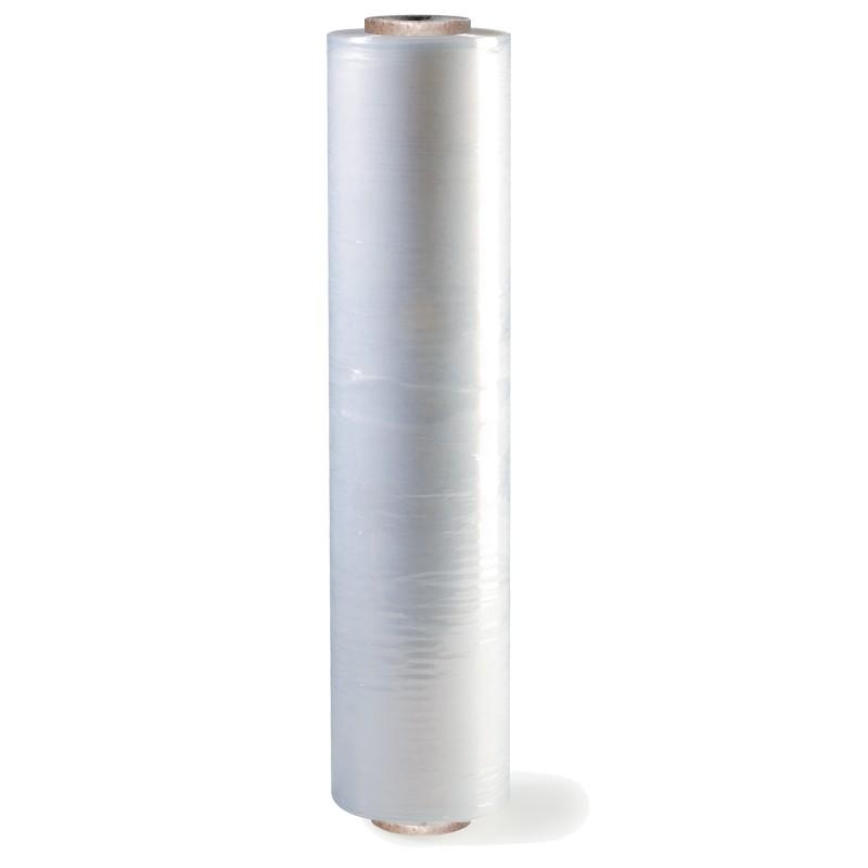 Handstretchfolie 500mm breitx300lfm, 23µ. transparent. ca. 3,47kg Rollengewicht