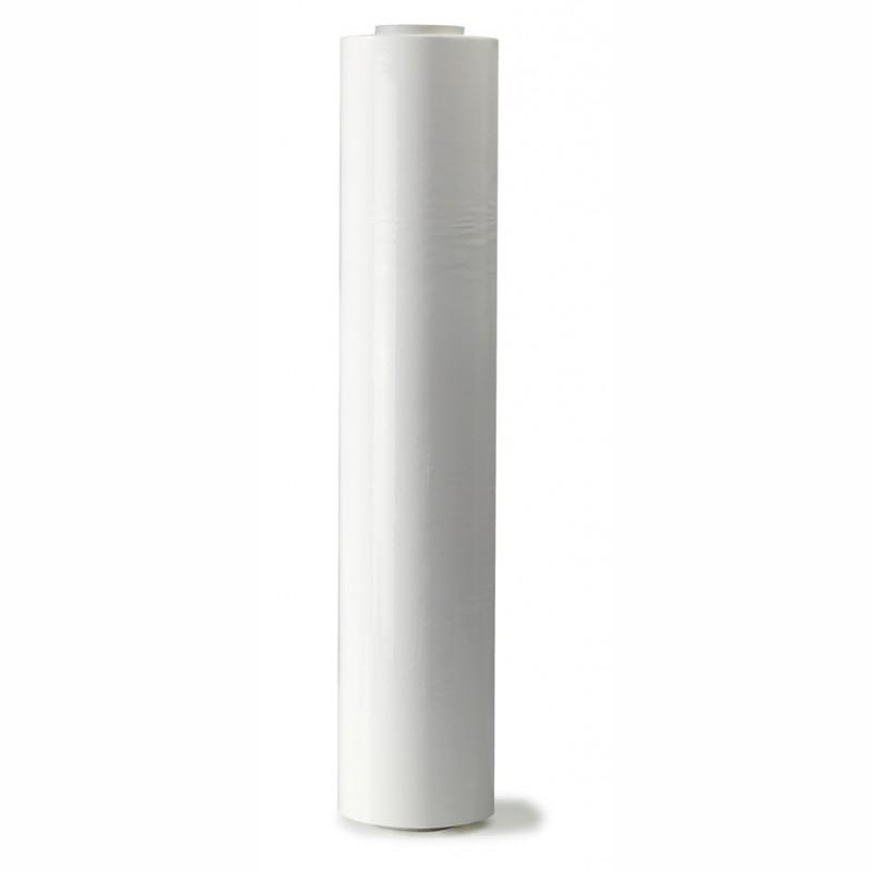 Handstretchfolie weiß 500mm breitx260lfm, 23µ. ca. 3,20 KG Rollengewicht.