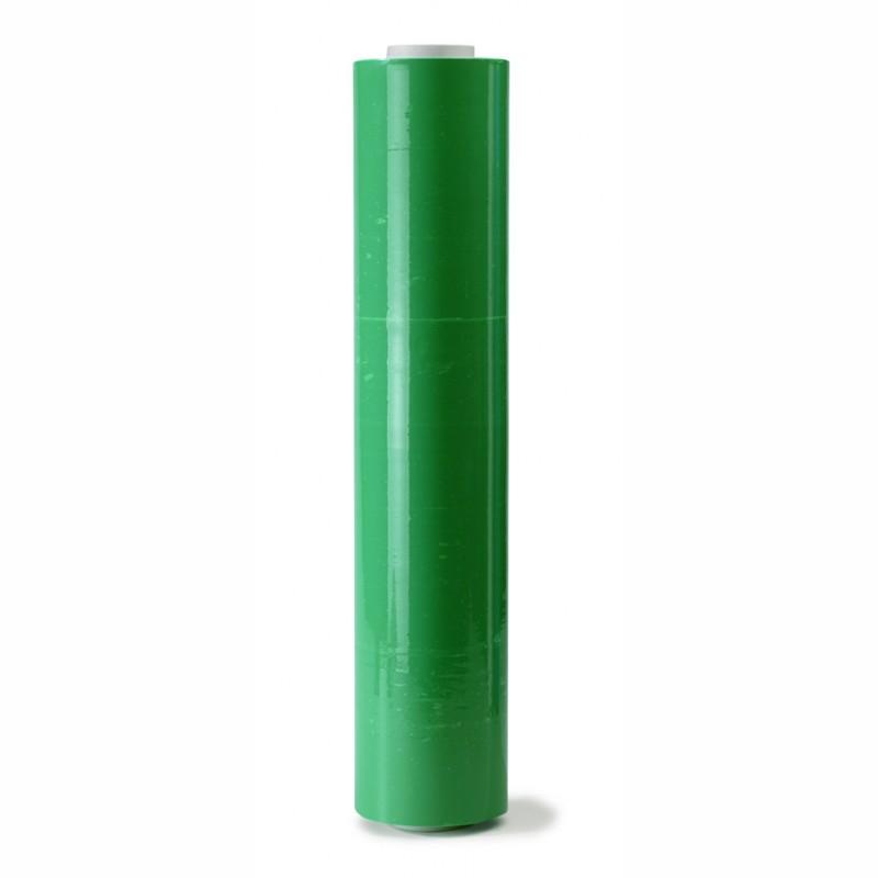 Handstretchfolie grün 500mm breitx260lfm, 23µ. ca. 3,20 KG Rollengewicht.