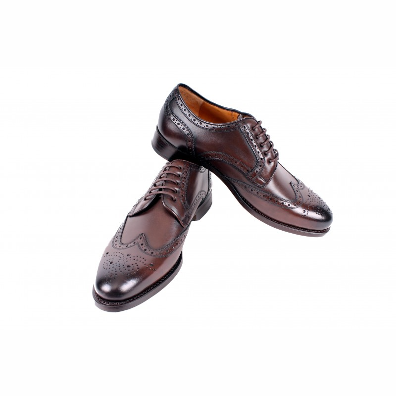 11x Mike & Chris Goodyear welted men's shoes made of the best calfskin
