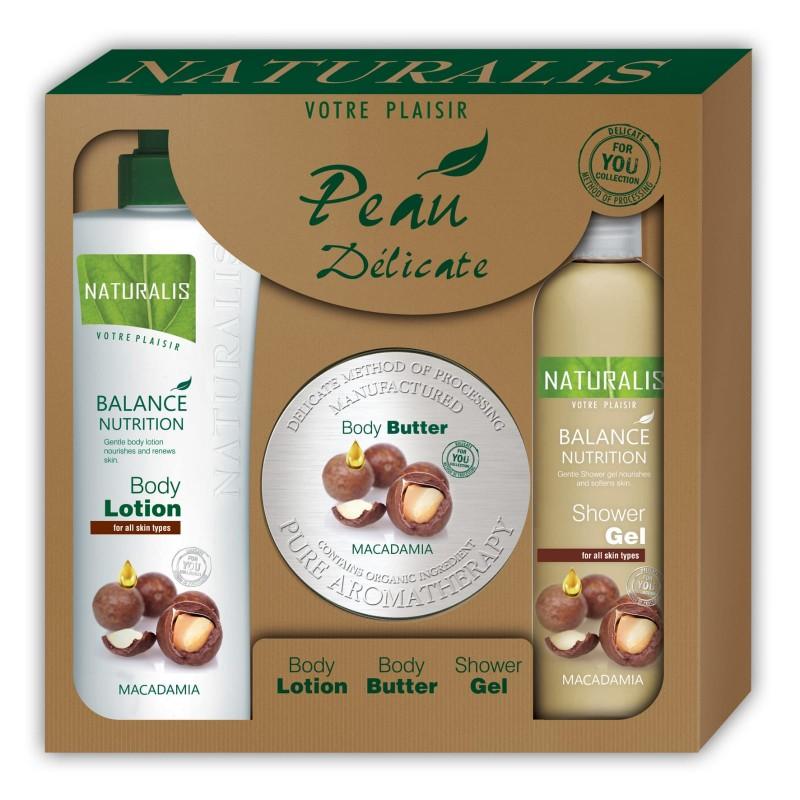 Body Care Christmas Box Macadamia, 3 tlg