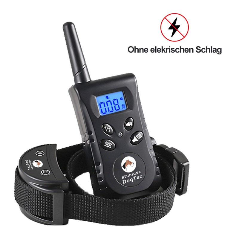 Dog Training Collar with Remote 2-in-1 Automatic Bark Collar Range 500 m