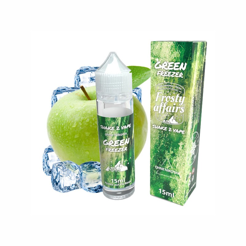 AROMA GREEN FREEZER - FROSTY AFFAIRS (15/60ML)