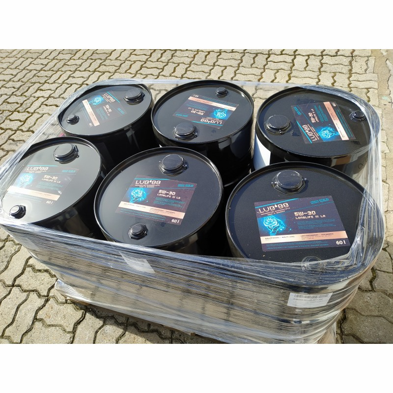 Motor oil LUB´88 5W30 LL III low ash ACEA C3 60 Liter