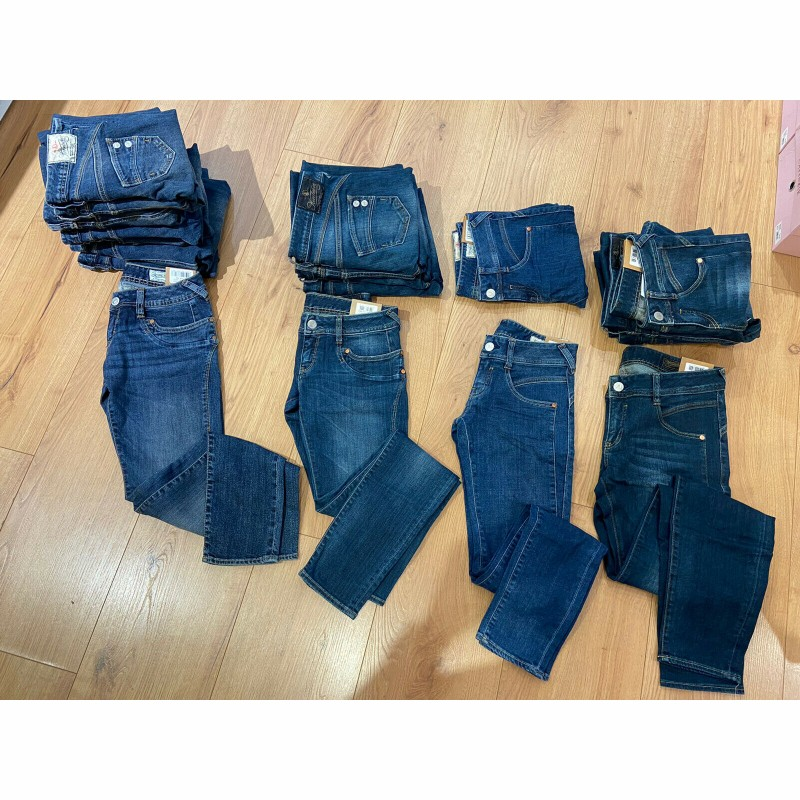 "Stock Clearance - 17 Jeans of the Munich brand ""Herrlicher"""