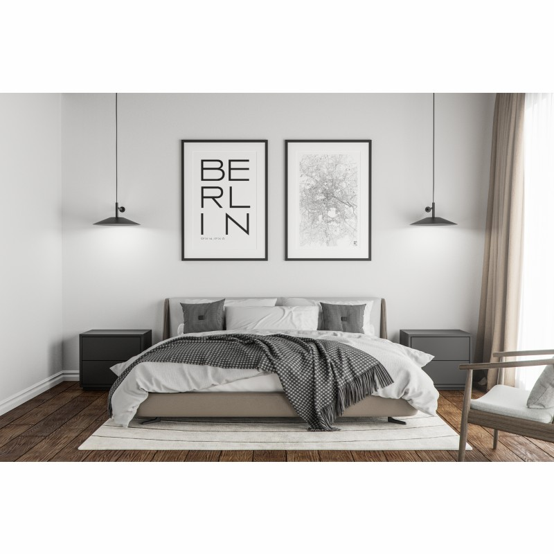Cityposter Berlin  Pack of 2 DIN A3