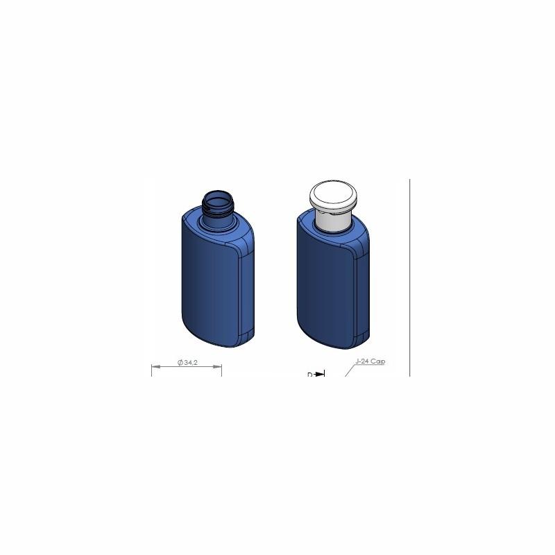 100 ml PET bottle flip top wholesale