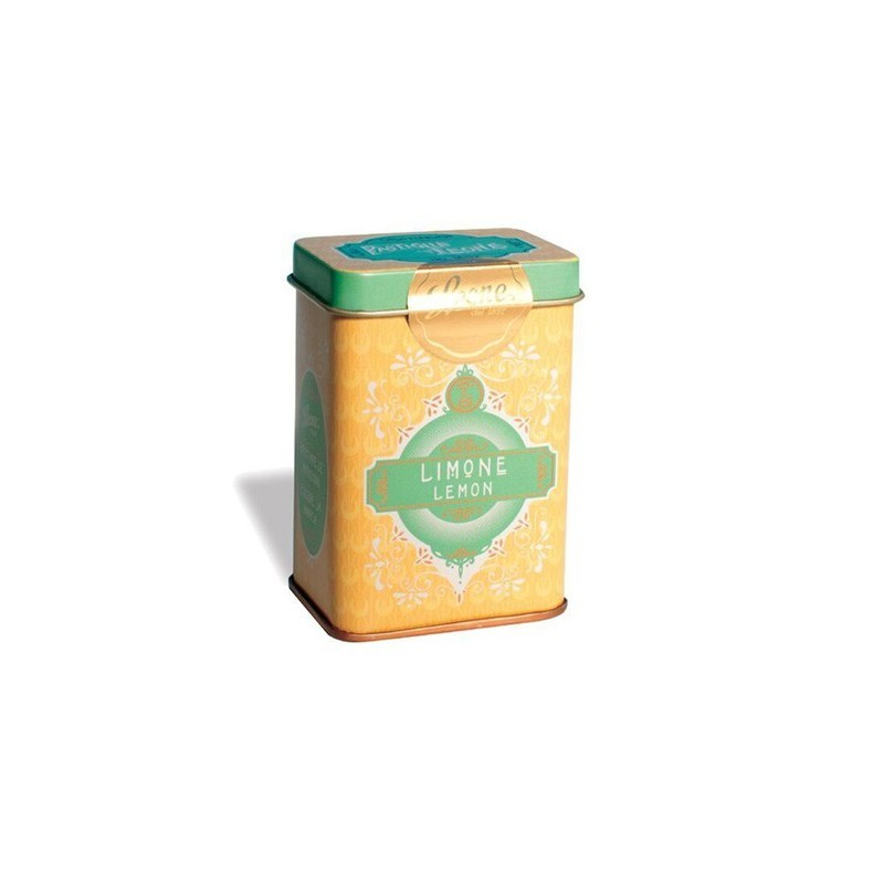 Pastilles retro chic jewelry box lemon