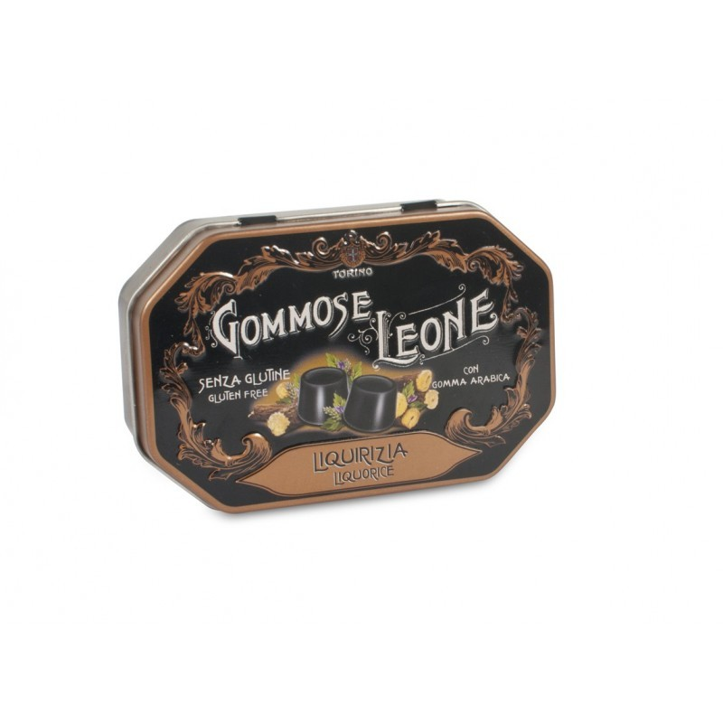 Soft pastille licorice gommose