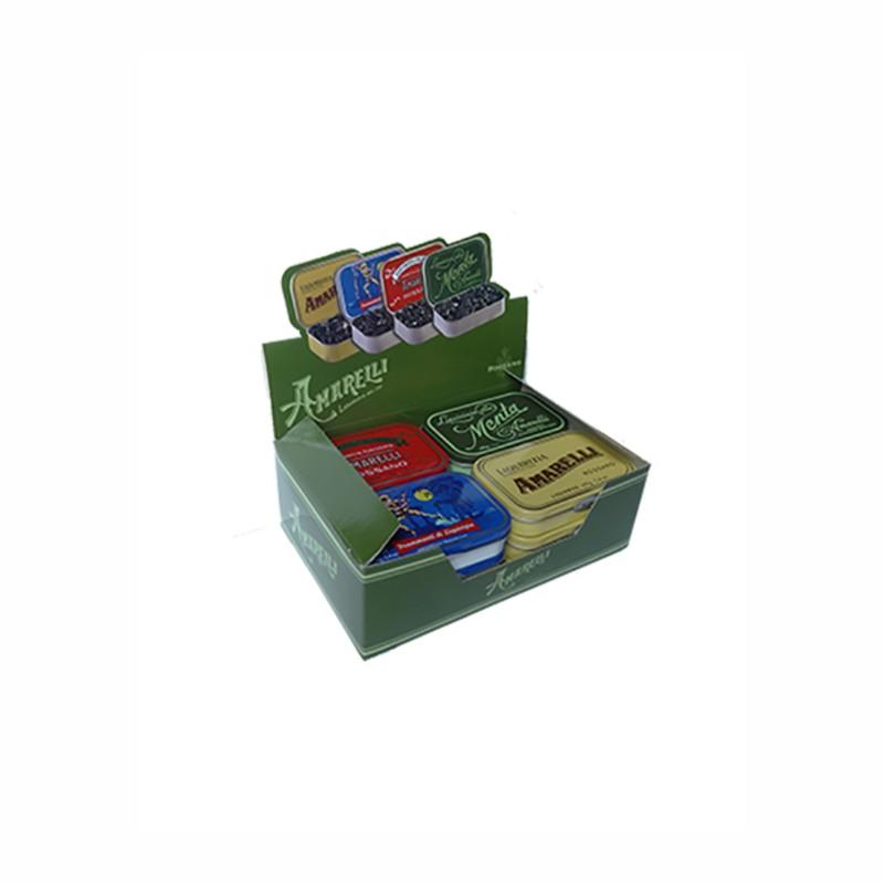 Amarelli 4 types of liquorice 40g
