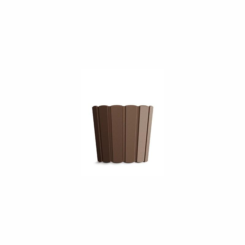 Flower pot BOARDEE BASIC - brown