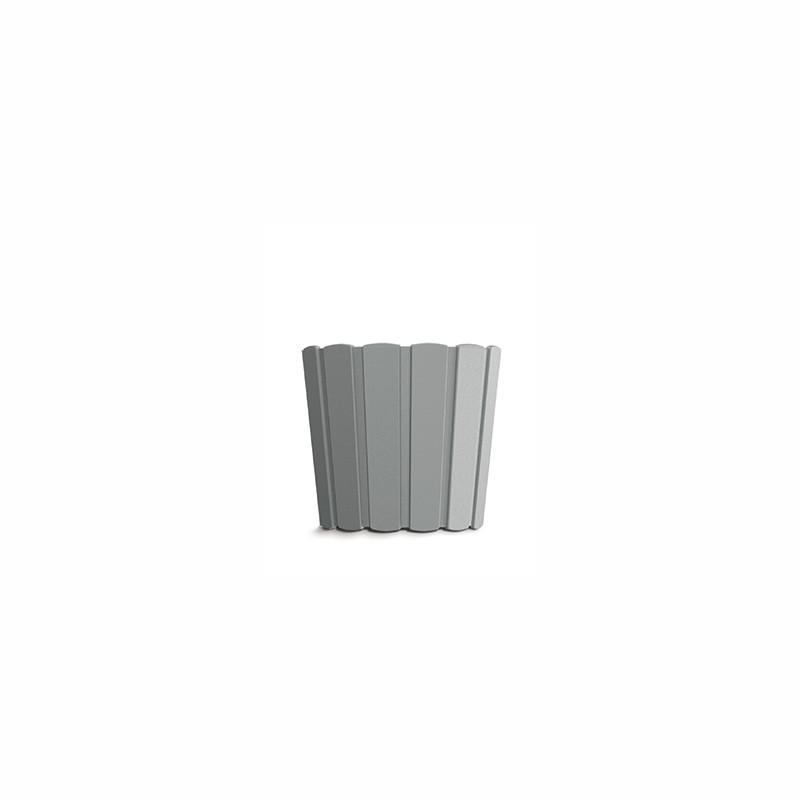 Flower pot BOARDEE BASIC - stone gray