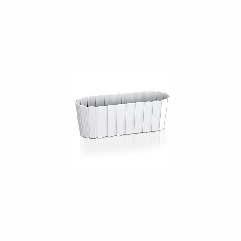 Balcony flower pot BOARDEE - white