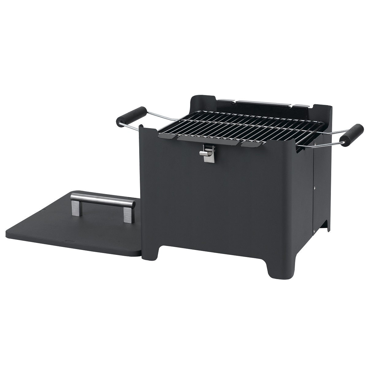 "Chill & Grill charcoal grill ""Cube"" anthracite"
