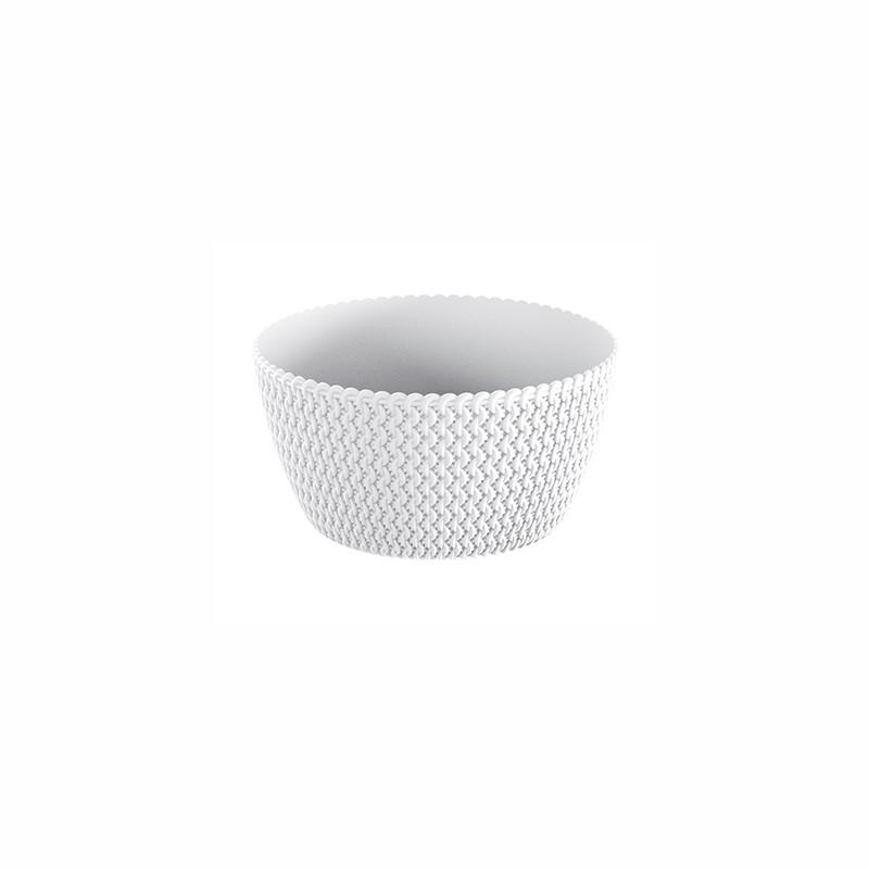 Flower pot SPLOFY - white