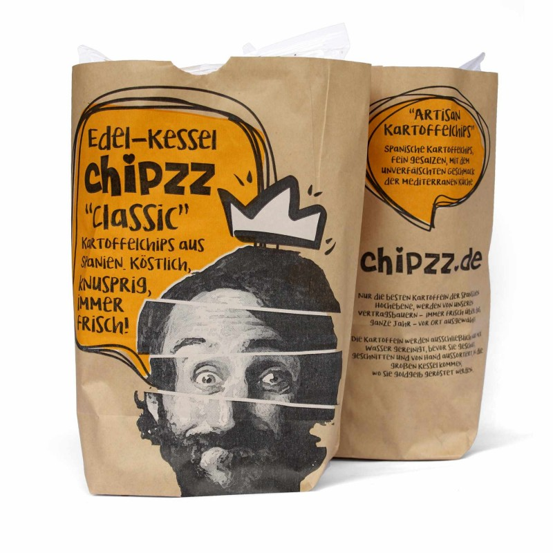 Chipzz Artisan Potato Chips - Classic 150 g