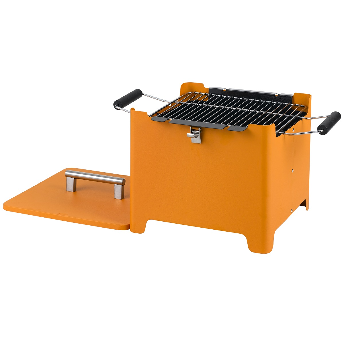 "Chill&Grill  charcoal grill ""Cube"" orange"