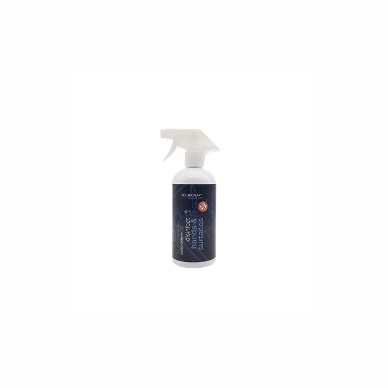 disinfect hands & surfaces - desinfection desinfectant hand and surface disinfection 500 ml